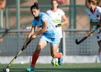 Udita scored India's lone goal against Spain at Madrid, Sunday