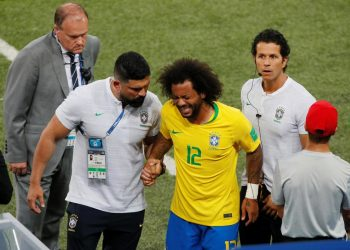Caption Defender Marcelo has said that he will return to onfield action soon