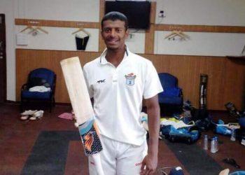 Subhranshu Senapati hit a scintillating century against Cuttack B