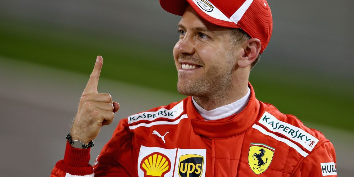 Sebastian Vettel took pole position in Canada at Montreal, Saturday