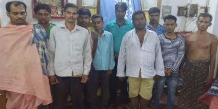 Gambling, Gambling den busted in Ganjam, 10 held