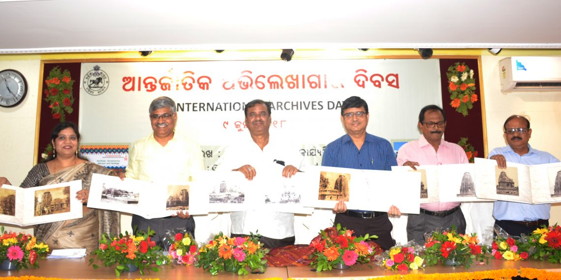 Eminent guests at State Archives celebrating International Archive Day OP PHOTO