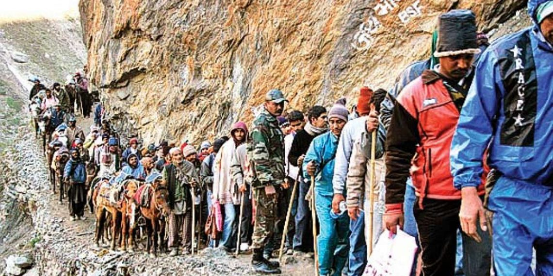 Amarnath, 3,708 pilgrims leaves Jammu for Amarnath