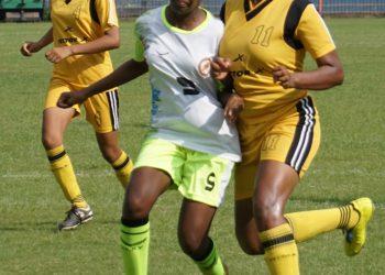 Manisha Naik (C) in action against Chandigarh at Barabati Stadium, Sunday