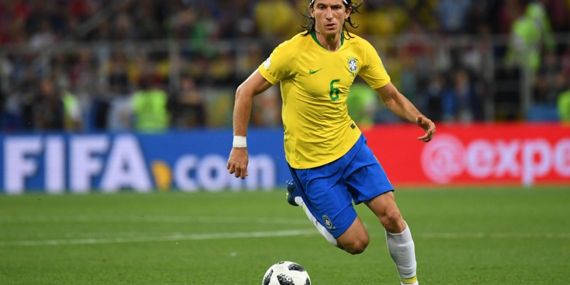 Filipe Luis has injected greater solidity to the Brazilian defence