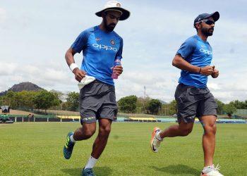 KL Rahul (L) and Ajinkya Rahane