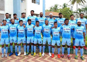 The men's India hockey team