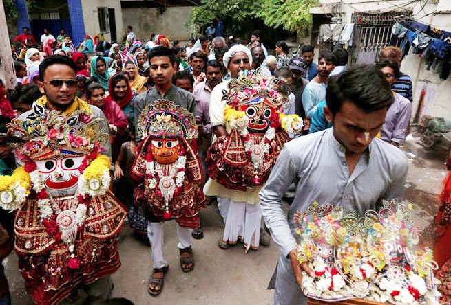 ISKCON Pakistan, Rath Yatra travels the world