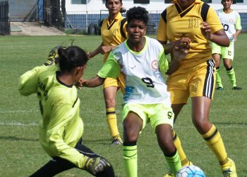 Manisha Nayak (C) will be one of the key players for Odisha against Manipur in the sub-junior girls' football final at Cuttack, Thursday