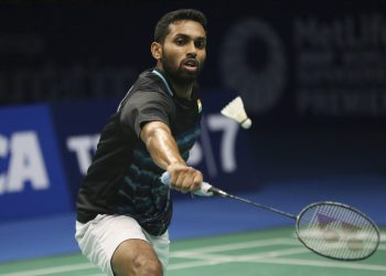 HS Prannoy put up a great show to beat his fancied rival Lin Dan of China
