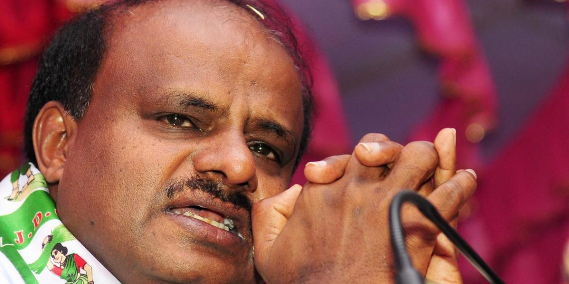 , Never said Cong troubling me: HDK