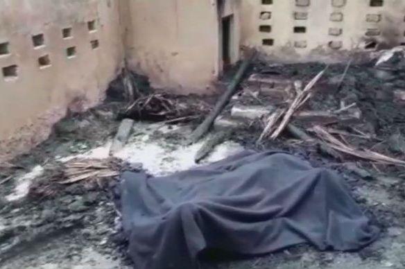 gangrape, Woman burnt alive for resisting gangrape