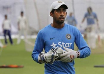 Wriddhiman Saha's shoulder injury was kept under wraps for a lengthy period