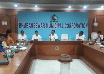 BMC meeting to solve waterlogging in the Capital City.