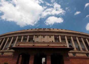 """ Clouds over Parliament House on the first day of Monsoon Session, in New Delhi on Monday"" *** Local Caption *** "" Clouds over Parliament House on the first day of Monsoon Session, in New Delhi on Monday. express photo by anil sharma 26-07-2010"""