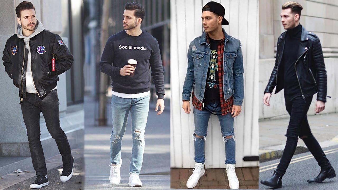 Simple Mens Street Fashion