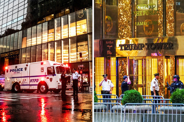 Trump, Suspicious packages found in New York's Trump Tower
