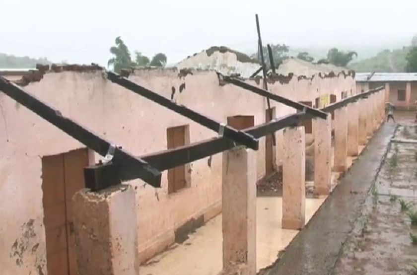 Schools, Future of students in dark as rain blows away roofs of schools