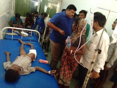 schoolchild, Student dies, 3 critical as wall caves in during school hours