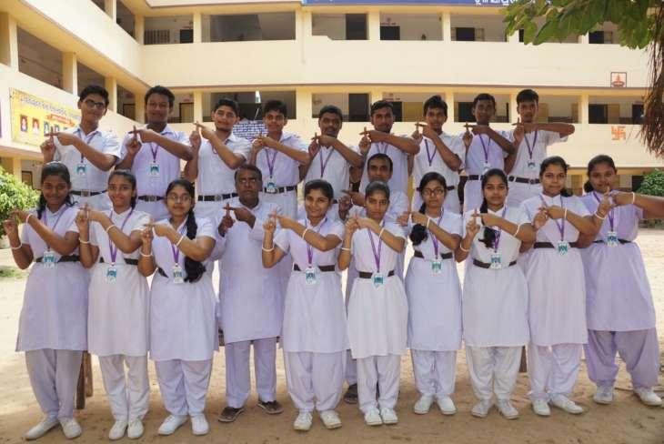 students, Students of Tulasipur Saraswati Sishu Vidya Mandir, Cuttack