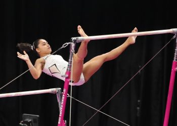 India's Dipa Karmakar performs during the qualification round in Asian Games Tuesday