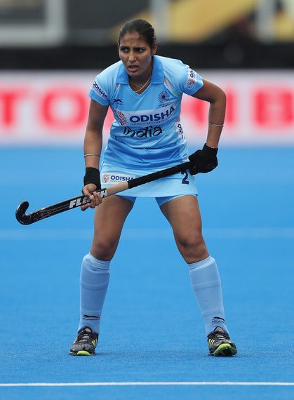 Gurjit Kaur scored a hat-trick as India womens' hockey team thrashed Indonesia in Asian Games