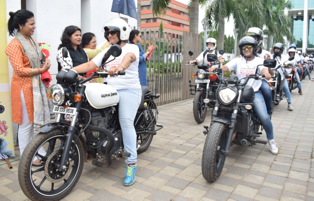, All-women bikers group takes out rally against molestation