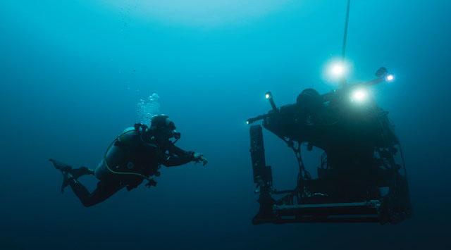 Novel underwater robot