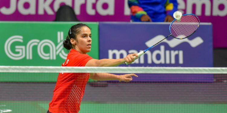 Saina Nehwal failed to beat Nozomi Okuhara in the women's team event despite playing her heart out in Jakarta, Monday