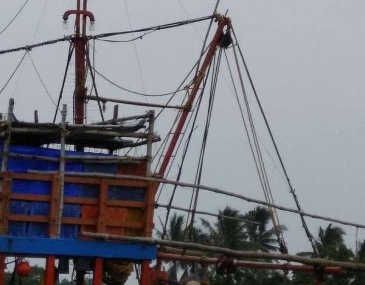 Tricolours, Tattered Tricolours flown atop fishing boats, action demanded