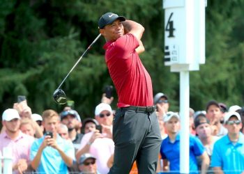 All eyes will be on Tiger Woods when he tees off on the Bellerive Club course here Thursday
