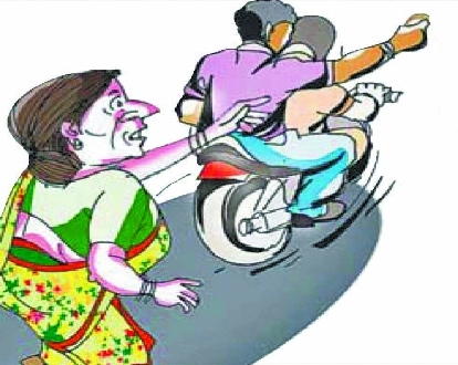 Loot, Posing as cops, miscreants loot gold ornaments from woman