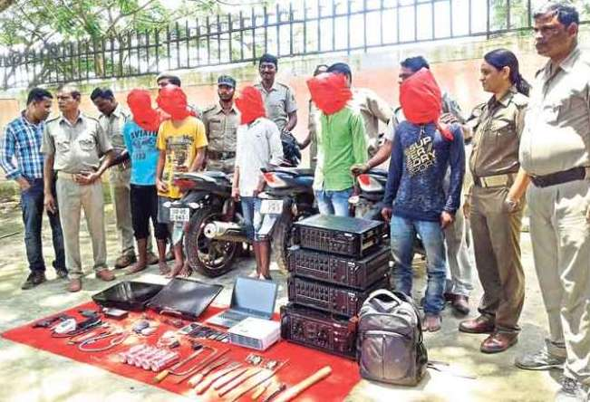 Looters, Looters' gang busted in Jajpur