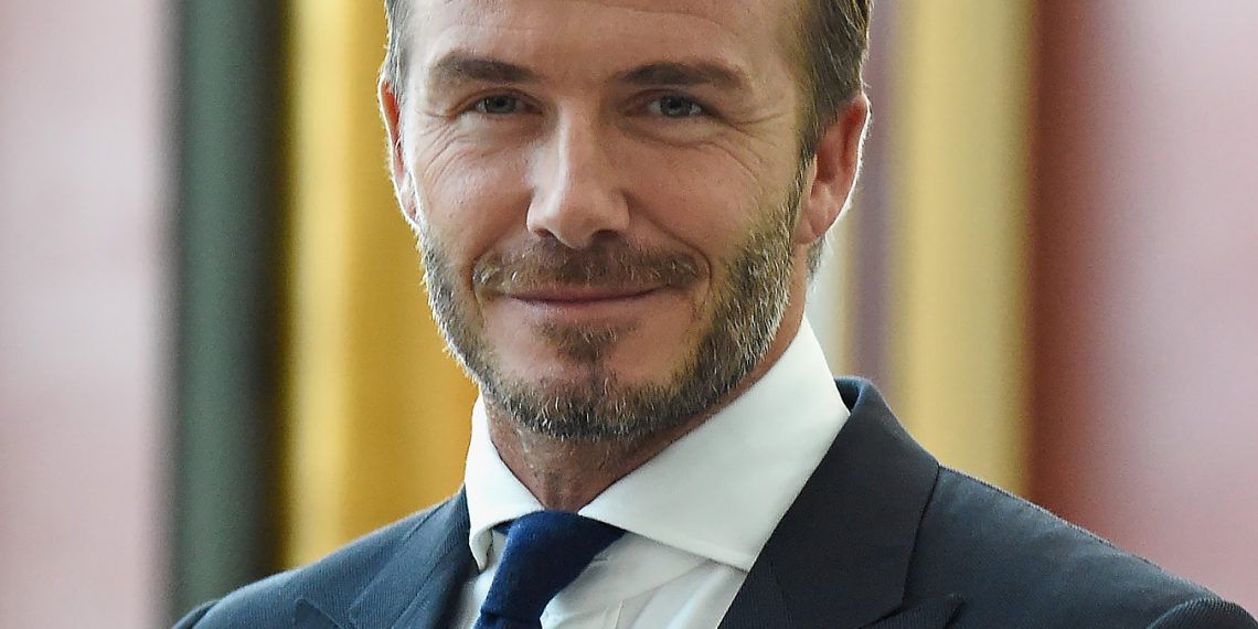 David Beckham to receive UEFA President's award later this year