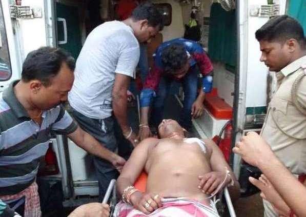 Firing, Firing in Bolangir ahead of CM's visit