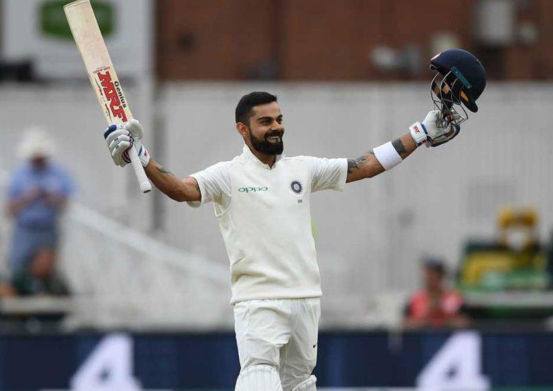 Virat Kohli has regained the top in the ICC Test batsman rankings