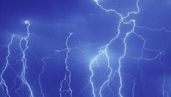 lightning, Thunderstorm, lightning alert for 18 districts
