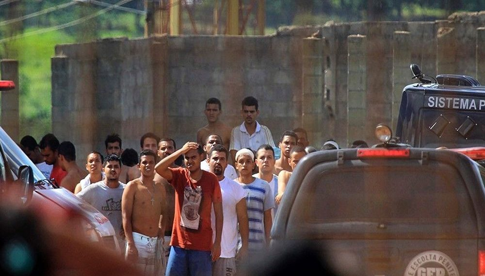 inmates, 100 inmates escape from maximum-security prison in Brazil