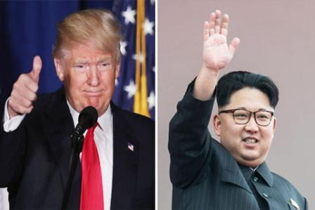 Trump, Trump open to meeting Kim again