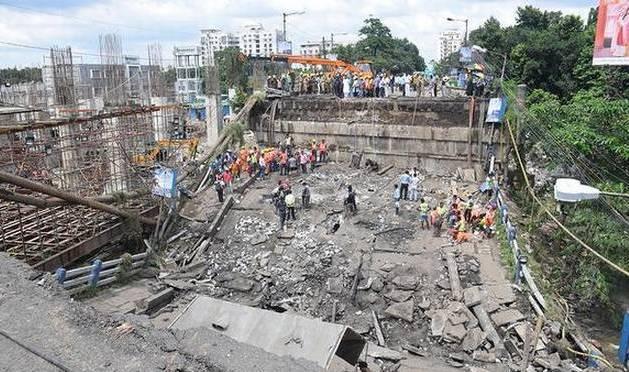 Collapse, Kolkata bridge collapse: toll rises to three