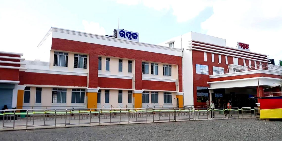 Bhadrak, Bhadrak gets new rail station building