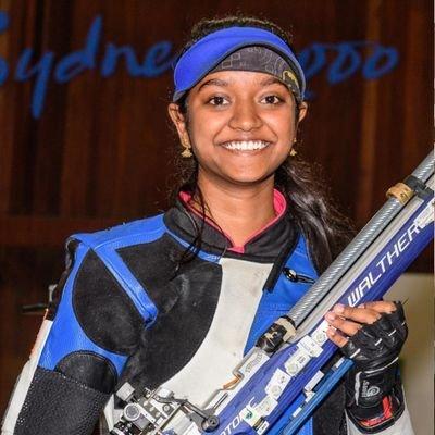 Elavenil Valarivan won silver in women's 10m air rifle event