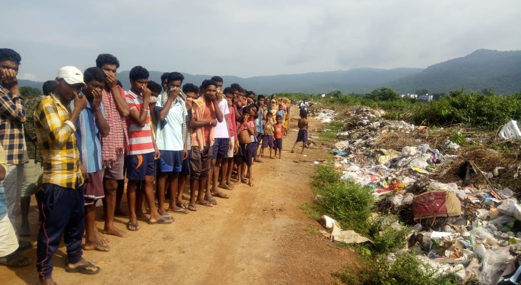 waste dumping, Locals up in arms against waste dumping
