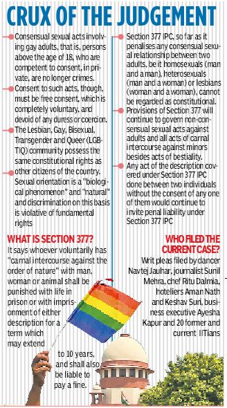 Section 377, Gay sex no crime