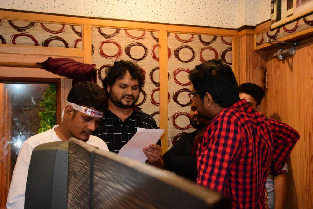 Japani-Odia Music director at RR Recording studio