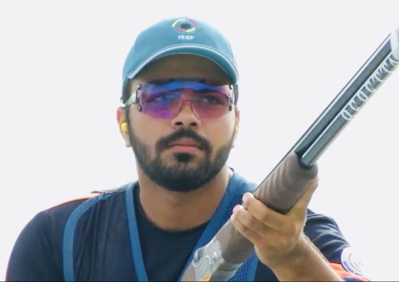 Gurnihal Singh Garcha bagged a silver in men's team skeet and a bronze in individual skeet at the ISSF World Championships, Tuesday