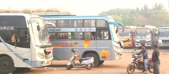 Spat, Pvt bus service between Bhubaneswar, Puri restored