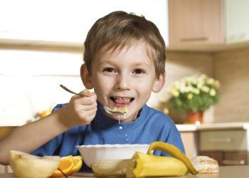 anti-oxidant dose child eating