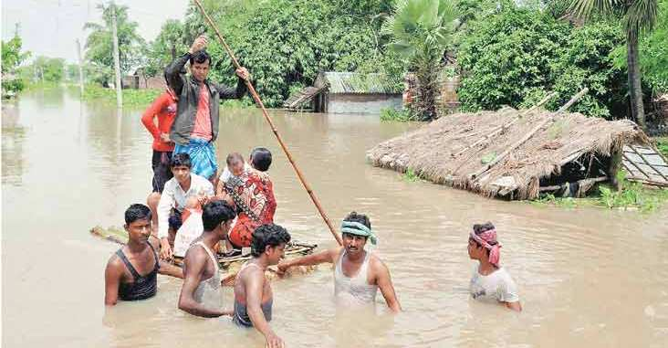 Relief, 7-day relief for flood-affected people