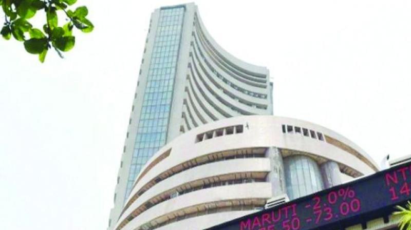 Sensex, Sensex falls for 5th day in row